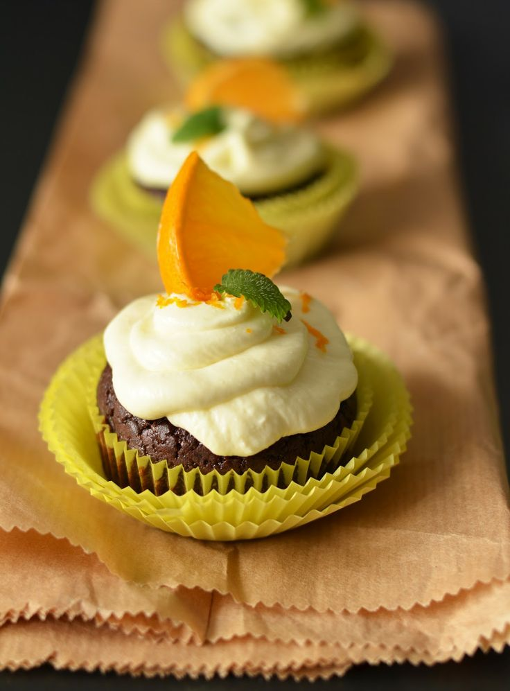 Chocolate Orange Cupcakes | Cupcake Wars, Here I Come! | Pinterest