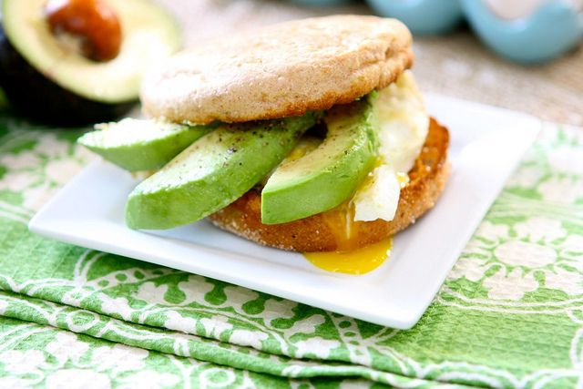 Egg and Avocado Sandwich | Live Long And Prosper | Pinterest