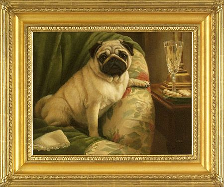 Pug Party Animal Painting