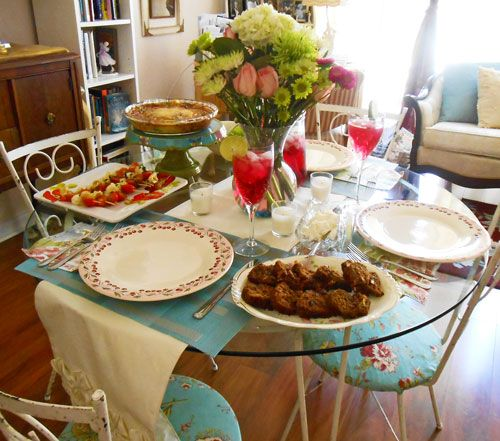 Table Setting For Lunch : Table setting for an afternoon lunch!  Grace with Silk  Pinterest