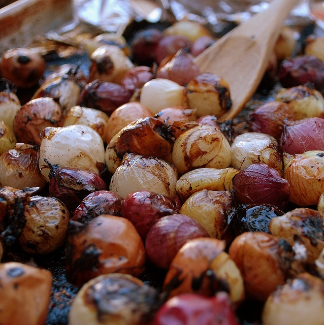 roasted pearl onions.....just found frozen bags of pearl onions ...