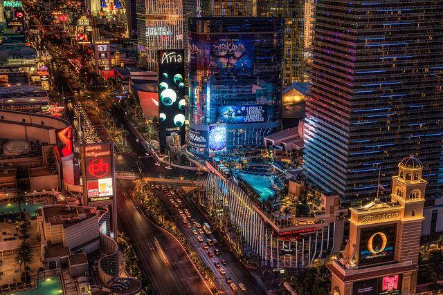Las Vegas Strip View | #LasVegas