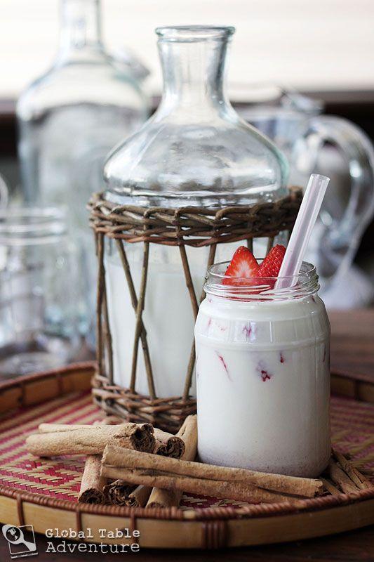 Strawberry Almond Horchata | Recipe