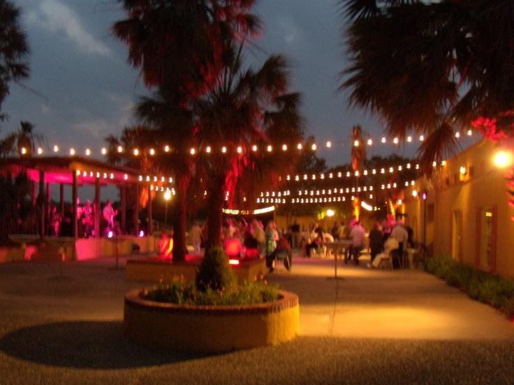 fiesta gardens courtyard austin Tx dream wedding Pinterest