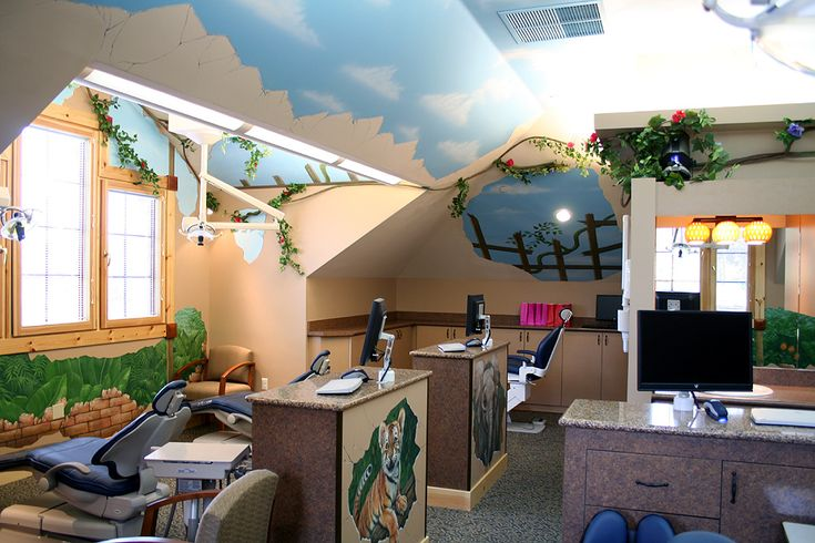 Pediatric Dental Interior Design Medical Dental And Healthcare Design EV