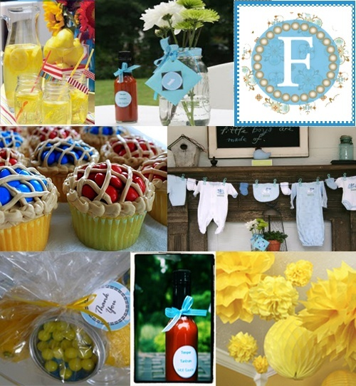 Bbq baby shower baby shower ideas baby d pinterest for Baby shower bbq decoration ideas