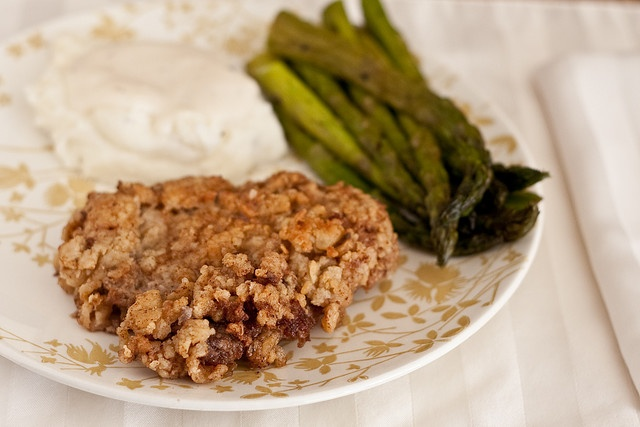 Chicken Fried Steak with Cream Gravy | HAVE FORK WILL TRAVEL~ main di ...