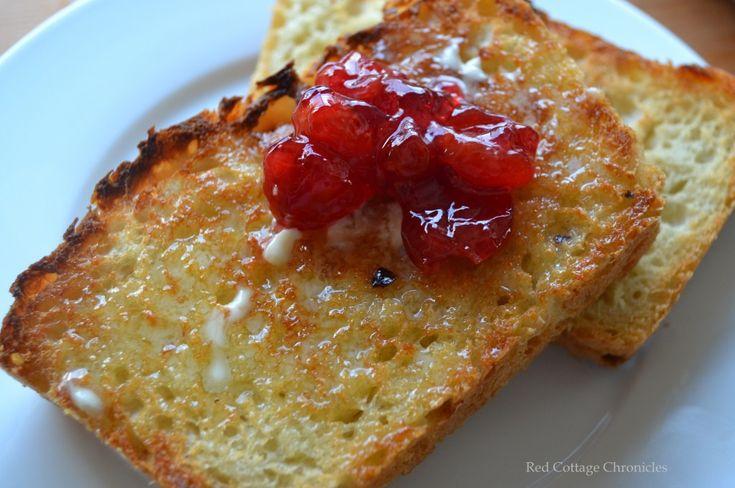 English Muffin Bread - redcottagechronicles.com