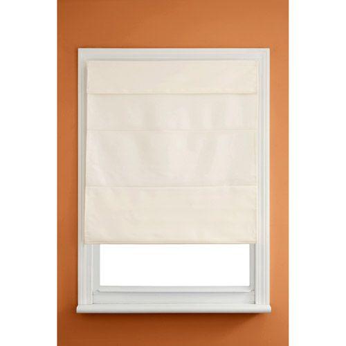 Kenney Cordless Insulated Roman Shade, Linen