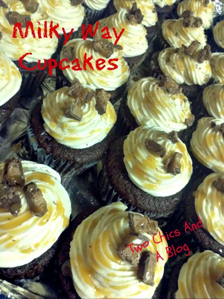 milky way cupcakes | Cake ideas | Pinterest
