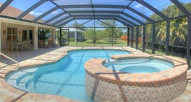 Lanai Pool Spa Florida House Pinterest