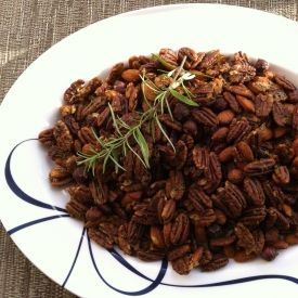 ... nuts for these super-easy, highly-addictive sweet and spicy holiday