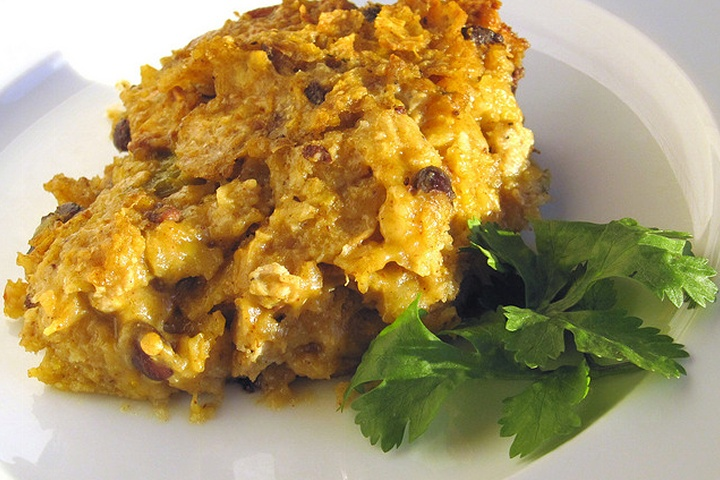 Egg and Green Chili Casserole | the most important meal | Pinterest