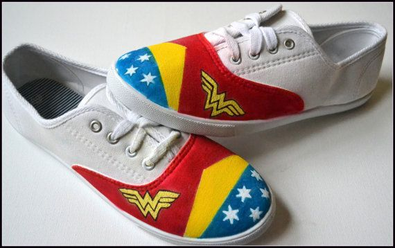 listing at https://www.etsy.com/listing/183689170/painted-shoes-wonder