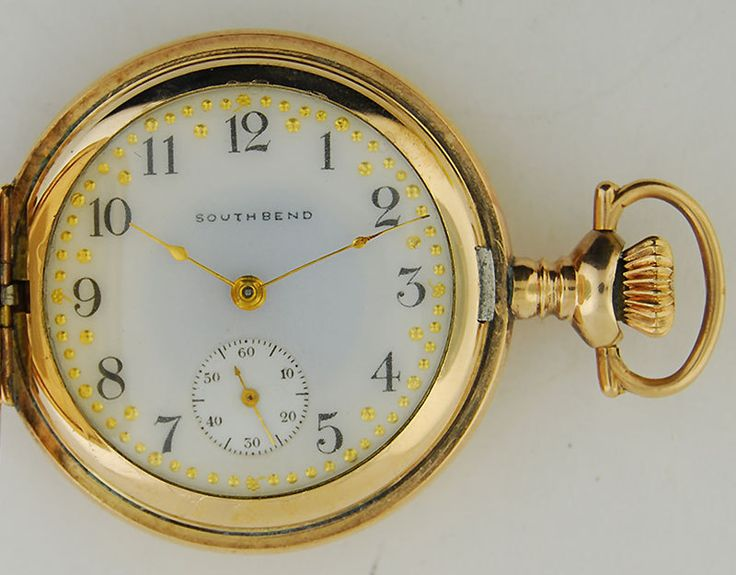 south bend pocket vintage watches
