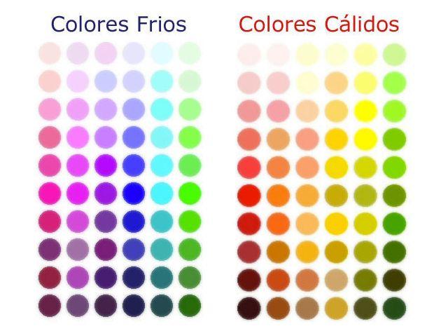Colores fr os y colores c lidos colorimetria pinterest - Colores frios y colores calidos ...