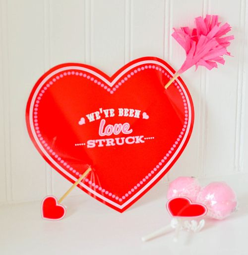 valentine heart printouts