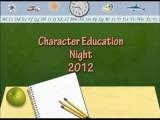 Character Education Night Video from my school!