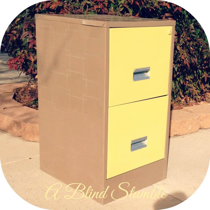 spray paint file cabinet arts crafts yay pinterest. Black Bedroom Furniture Sets. Home Design Ideas