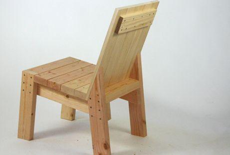 2x4 Chair Garden Decor Pinterest