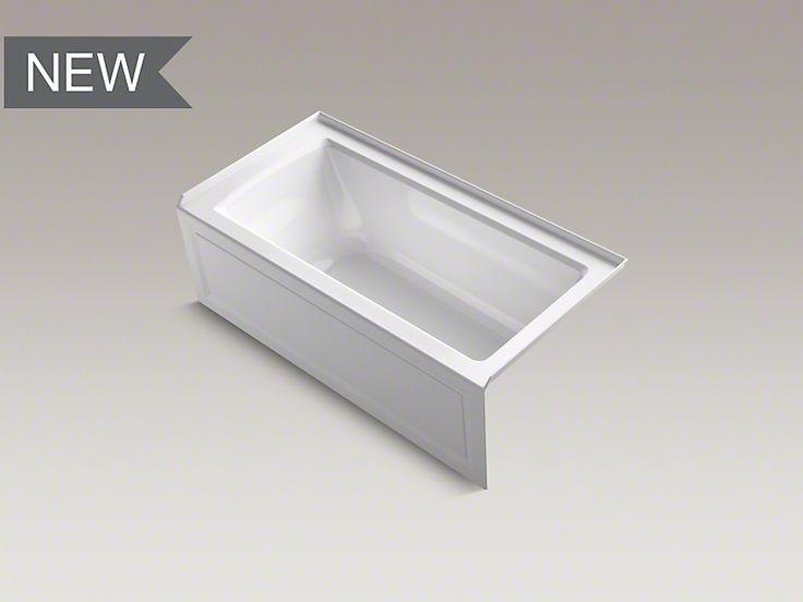 Main img kohler archer tub basement ideas pinterest for Low profile bathtubs
