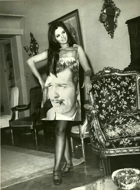 Clark Gable dress