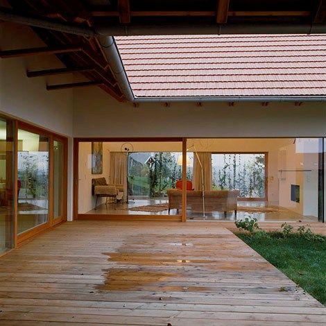 u shaped house patio house design inspiration pinterest