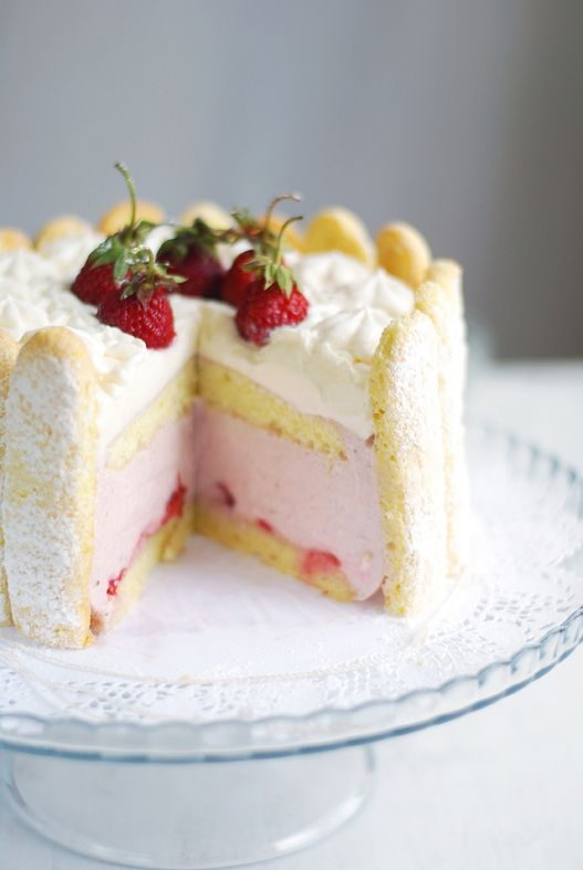 RECIPE - Strawberry Charlotte | Sweets...Yum | Pinterest