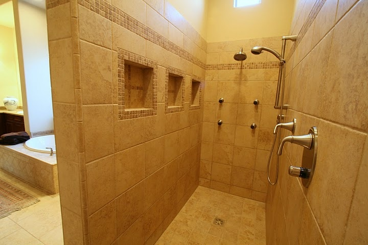 No More Shower Curtain Or Glass Doors Ideas Pinterest