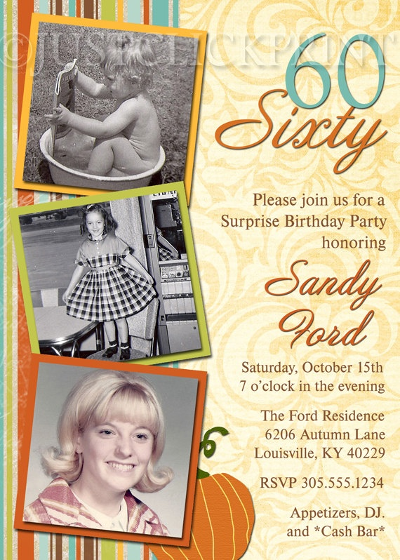 60Th Bday Invites for best invitations sample