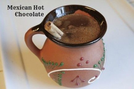 ... Mexican breakfast food. Make Mexican hot chocolate Photo: Nicole