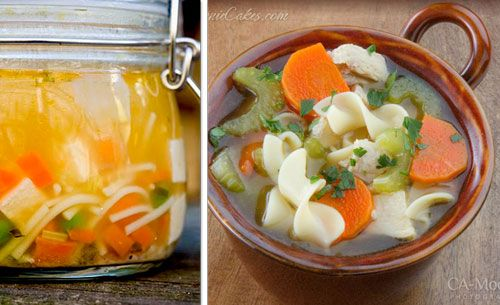 16 best winter soups (pictured on left sick hubby chicken noodle soup ...