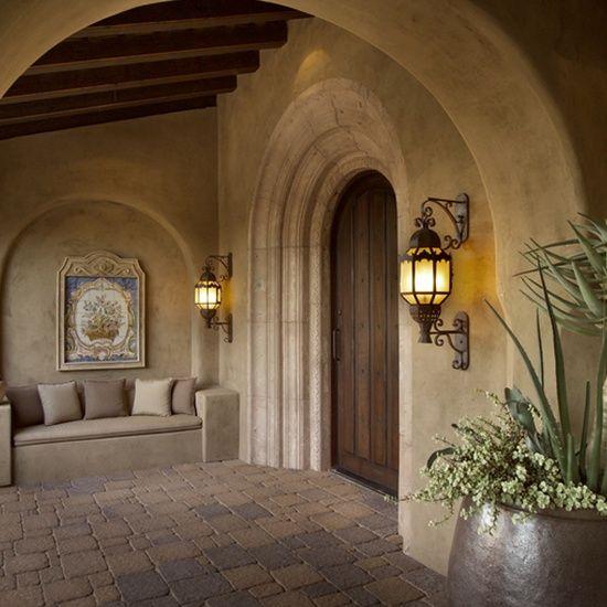 Tuscan Entry Rustic Luxury Interiors Pinterest