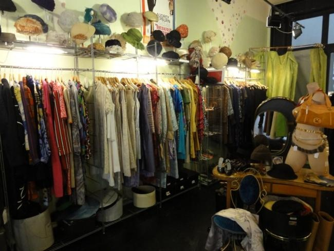 Gabriele: Best vintage clothing store in Brussels. It s like a time