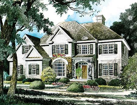 English country home plan for English country home plans