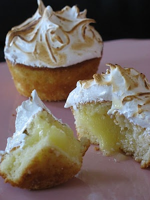Lemon Lime Meringue Cupcakes! Blow torches are not just for creme ...