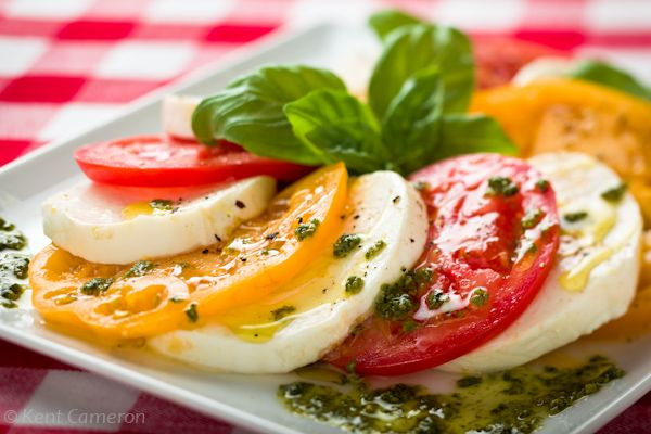 Salad Caprese | Gluten Free Recipes/Vegan Recipes | Pinterest