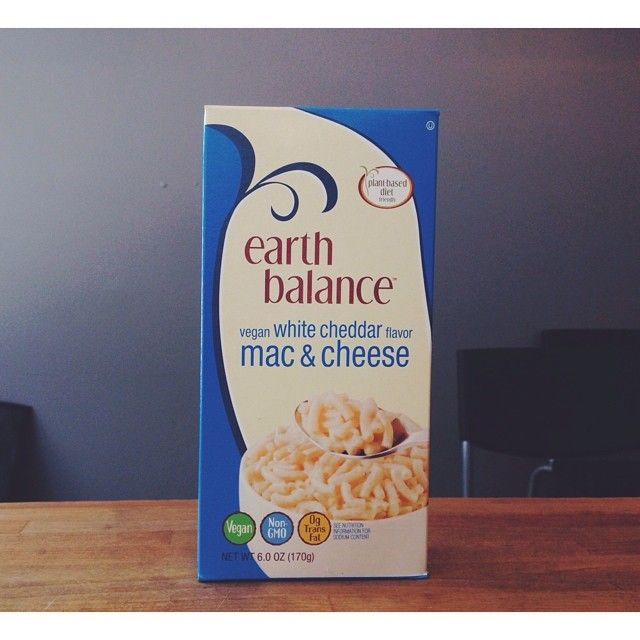 Whoa!!!!! #vegan White Cheddar Mac & Cheese from Earth Balance is now ...