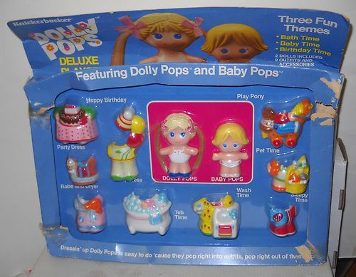 Dolly Pops Deluxe Set with Dolly Pop Baby Pop