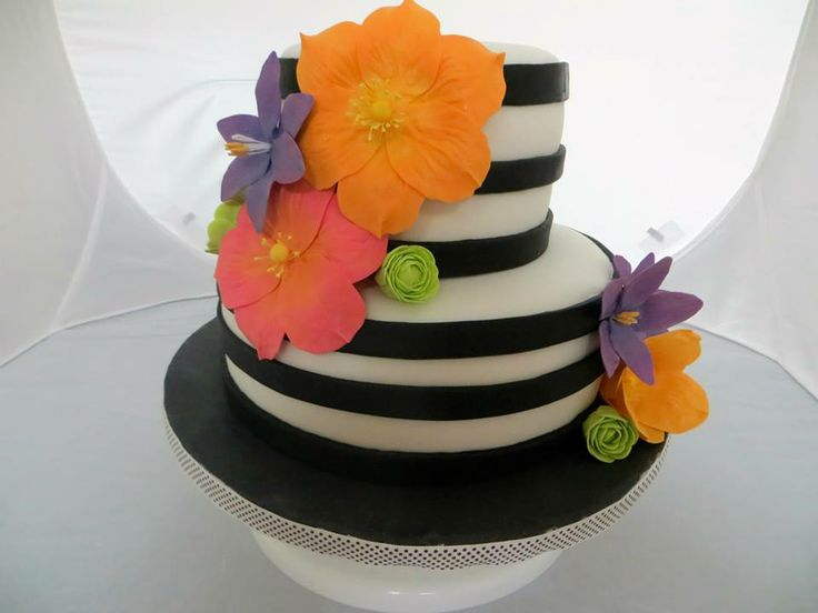 Birthday Cake Images For Aunt : Birthday cake for my Aunt. My cakes Pinterest