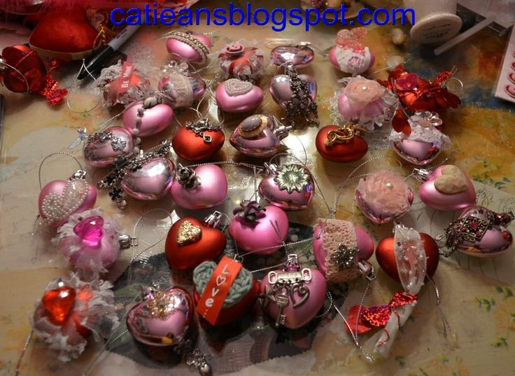valentine day ornaments