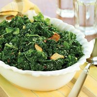 Garlicky Greens (I can't believe this is the first kale recipe David ...