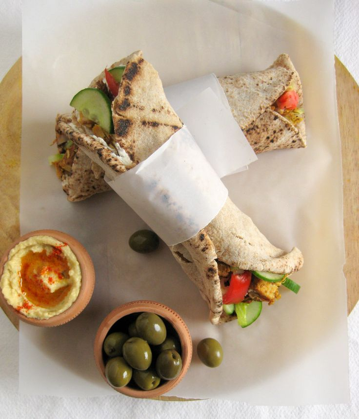 Chicken Shawarma-I had my first and only shawarma in South Africa and ...