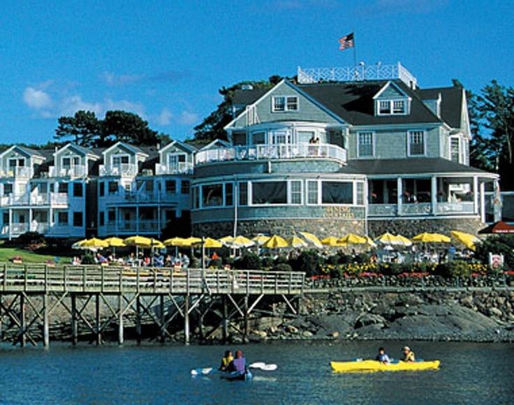 Grand Hotel Bar Harbor Maine Usa