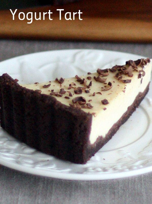 Yogurt Tart | Recipes | Pinterest