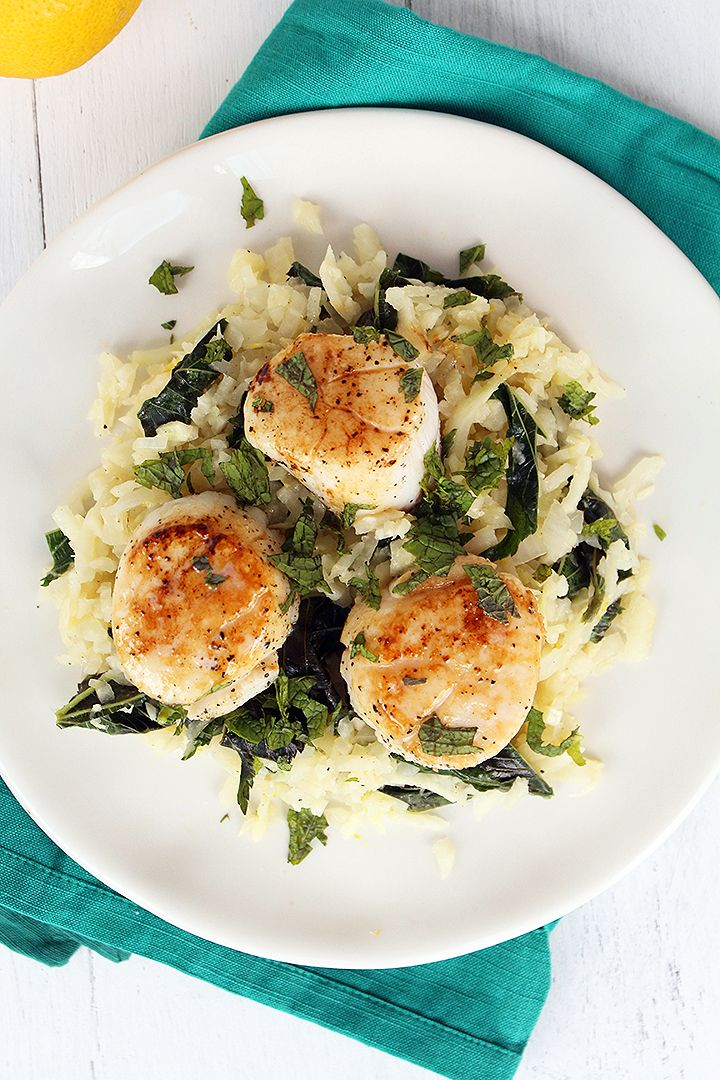 ... pan seared scallops with asparagus and baby leeks seared scallops with