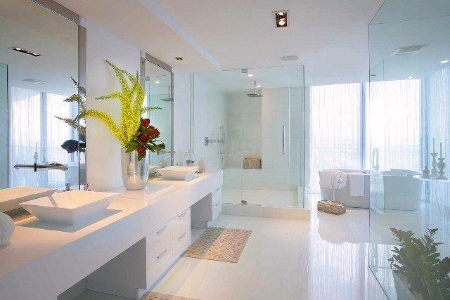 Unique  To Look At Our White Glass Bathroom Tile Ideas Below To Get Inspired