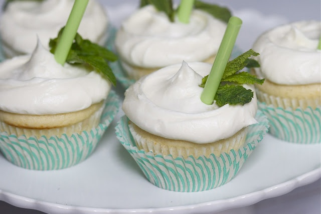 Mint Julep Cupcakes- perfect for Derby Day this Saturday!