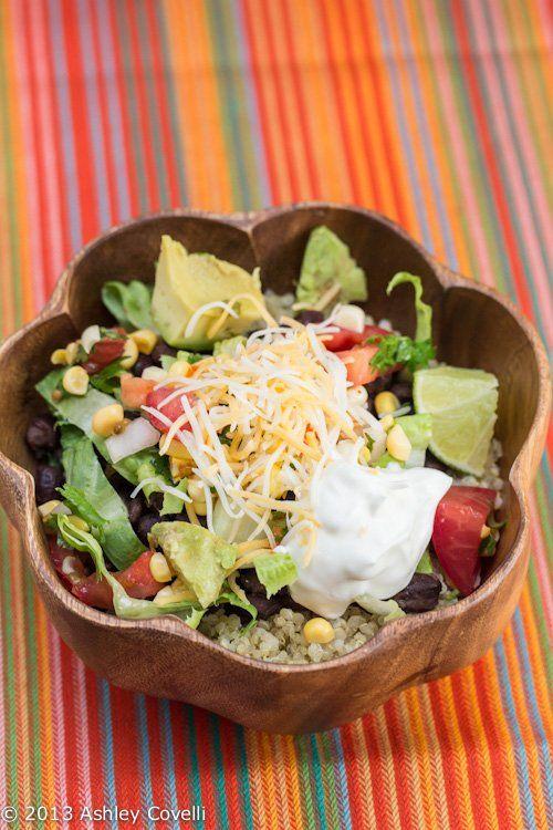 Quinoa Black Bean Burrito Bowls | Vegetable Creations | Pinterest