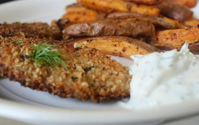 Tilapia With Greek Yogurt Mint Sauce Recipe — Dishmaps